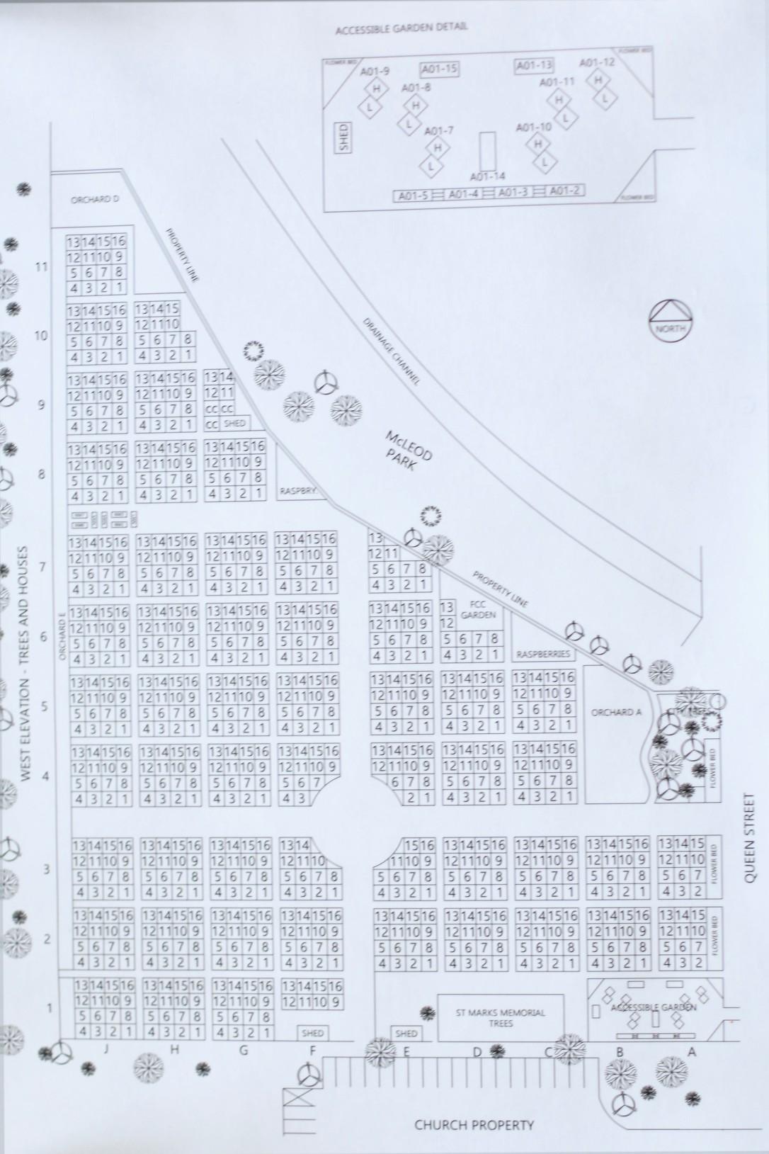 Jpeg garden map